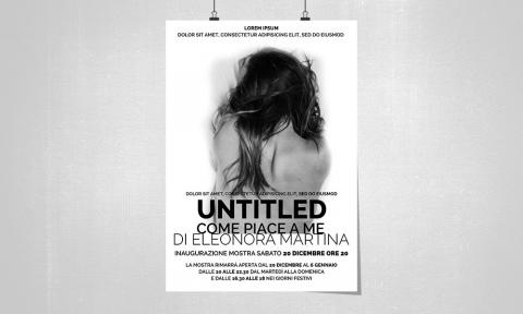 Untitle, manifesto di un evento
